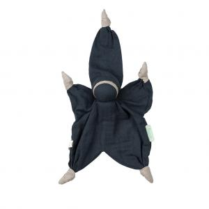 Sisco muslin navy blue