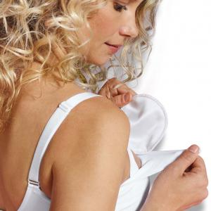 Tvättbara amningsinlägg silke