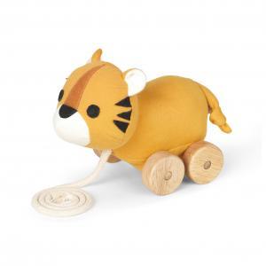 Tom tiger pull toy