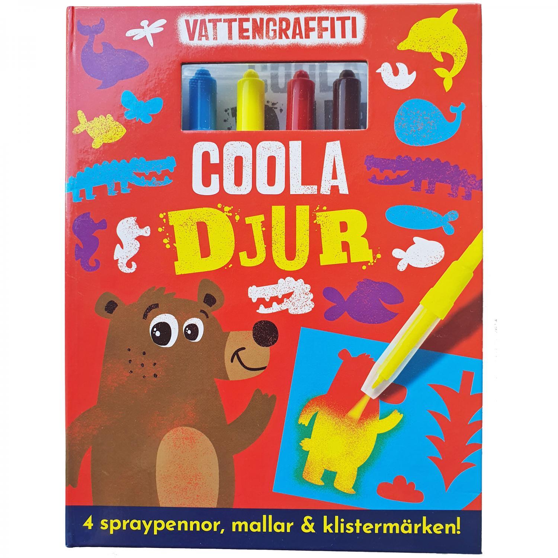 Vattengraffiti - Coola Djur