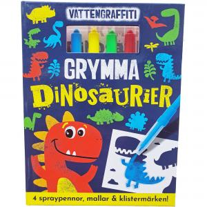 Vattengraffiti - Grymma Dinosaurier