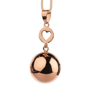 Bola rose gold heart