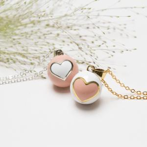 Bola pink heart