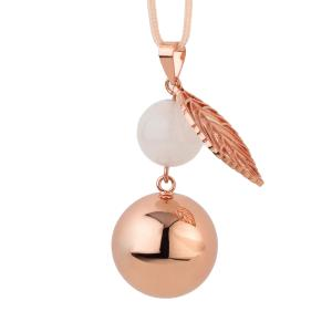 Bola rose gold pearl leaf