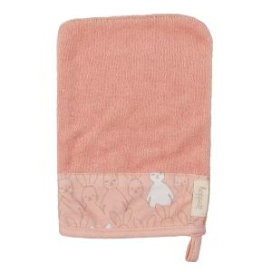 Washcloth hoppa organic old rose