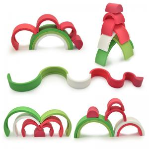 Watermelon stacking toy