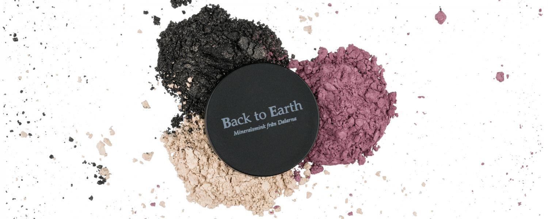 Hudvänligt mineralsmink från Back to Earth