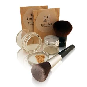 Start Kit Blush, 2 borstar - Glas & Refill