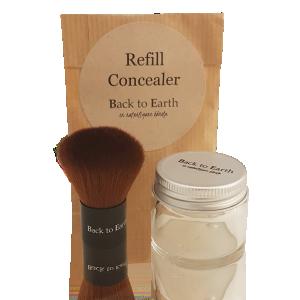 Concealer Kit Green - Glas & Refill