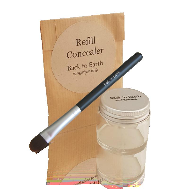 Concealer Kit Medium - Glas & Refill