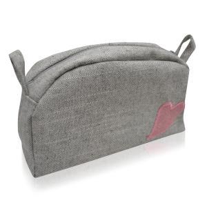 Sminkväska - grå.