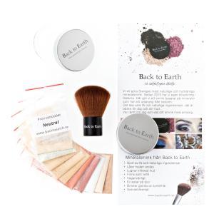 Prova På Kit från med hudvänligt mineralsmink från Back to Earth