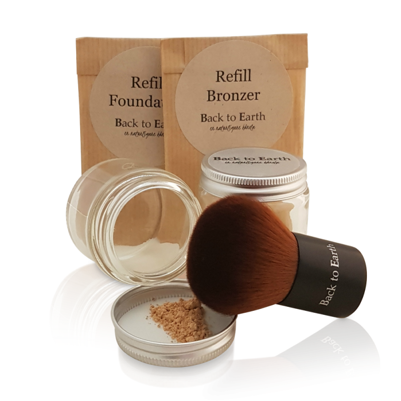 Start Kit Bronzer - Glas & Refill