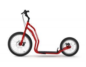 Dogbike - Red med dragfäste för hund