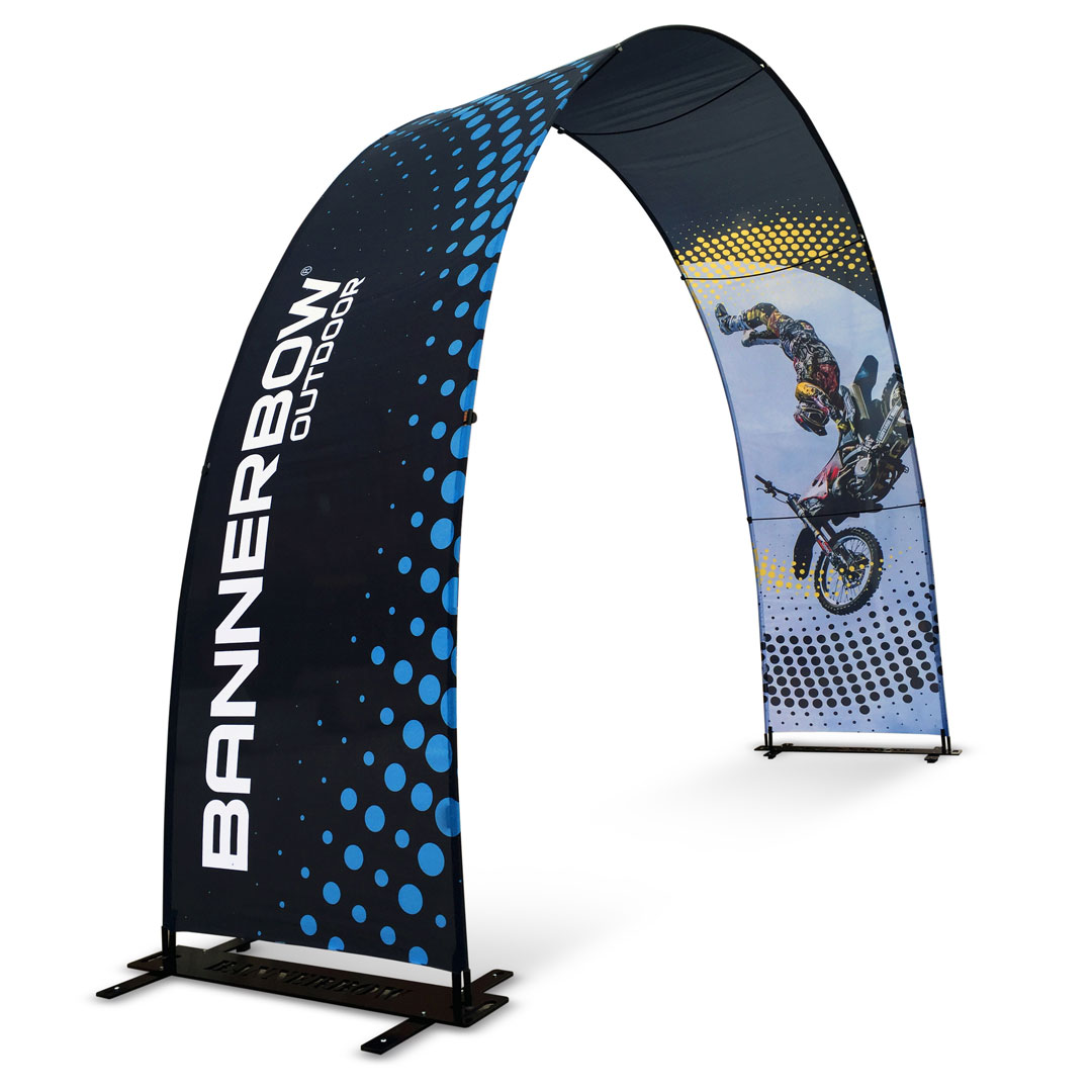Small Single sided Event Arch Hybrid