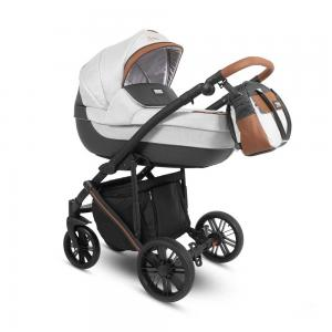 Abiro Duo  Barnvagn Grey/Brown