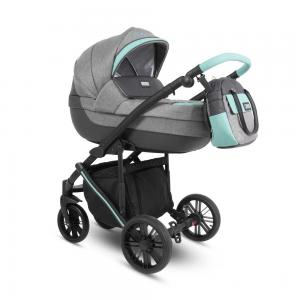 Abiro Duo  Barnvagn Grey/Blue