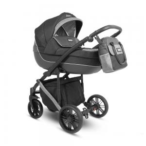 Abiro Duo  Barnvagn Black/Grey