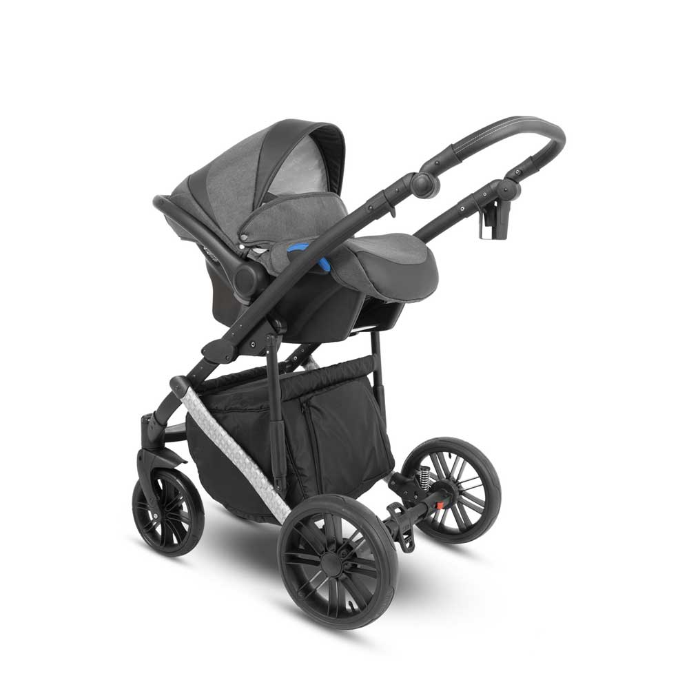 Abiro Duo Babyskydd Outdoor Grey