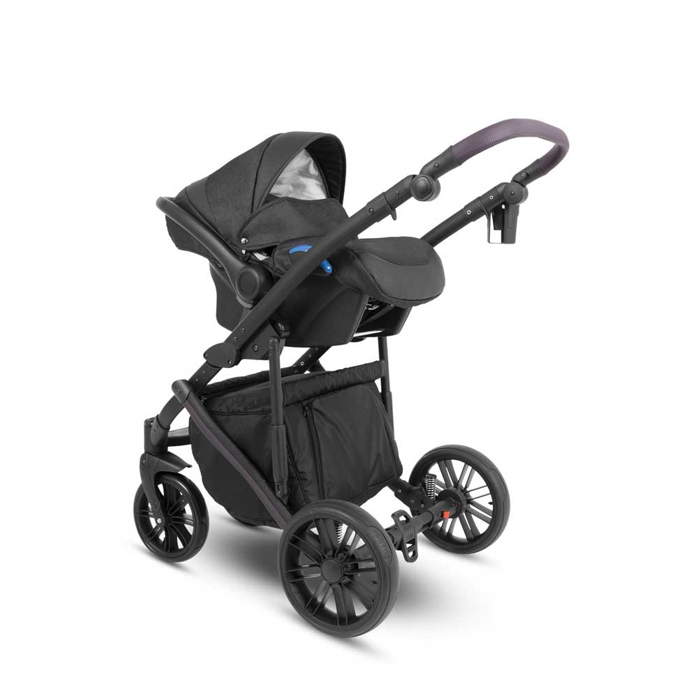 Abiro Duo Babyskydd Black/Purple