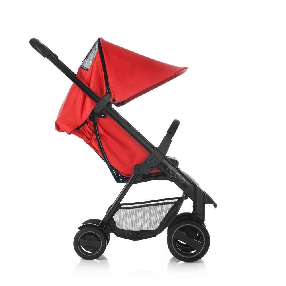 acrobat fishbone red barnvagn