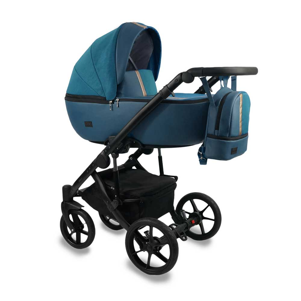 Air Duo Barnvagn Turquoise 03