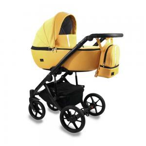 Air Duo Barnvagn Yellow 01