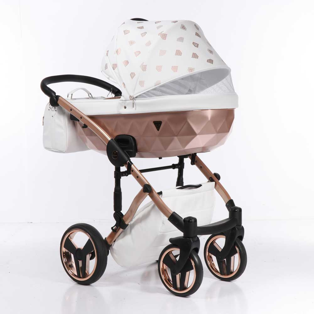 Barnvagn Junama Glow White Copper 01-01