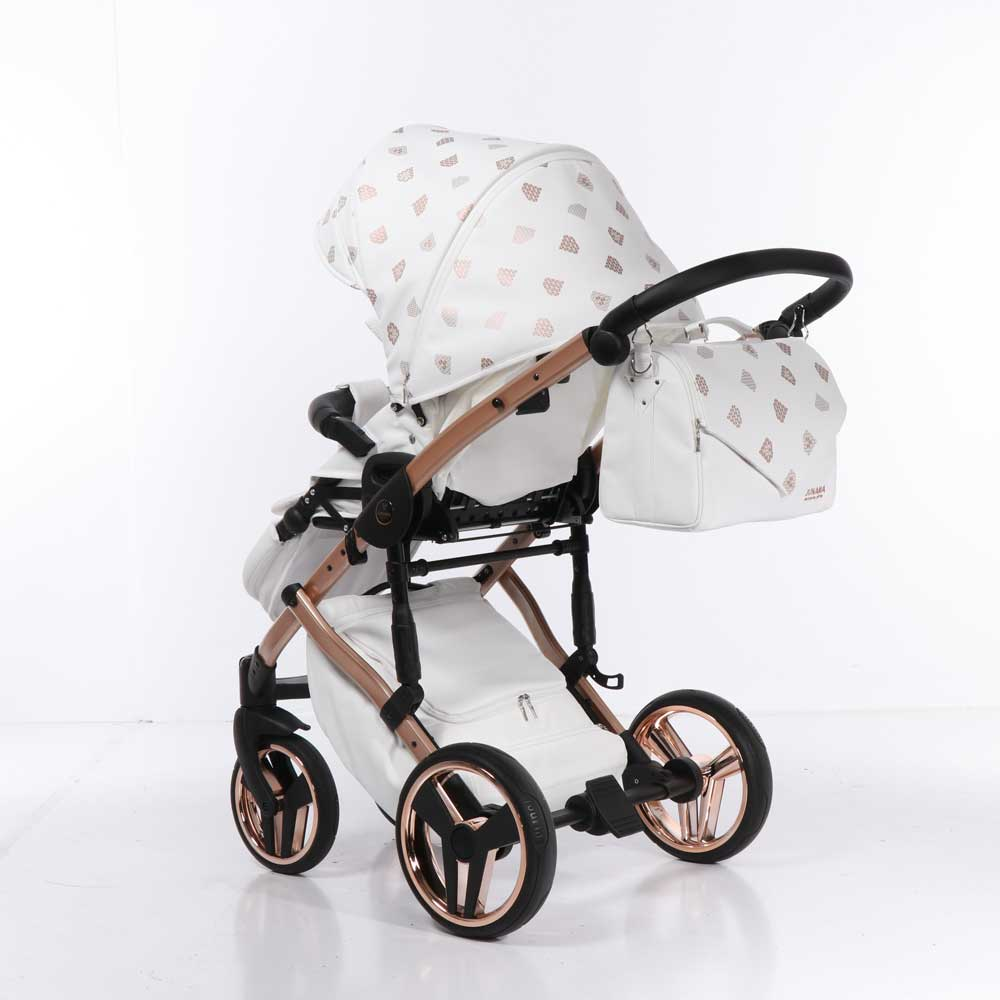 Barnvagn Junama Glow White Copper 01-08