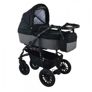 Barnvagn Opal Duo Black/Grey