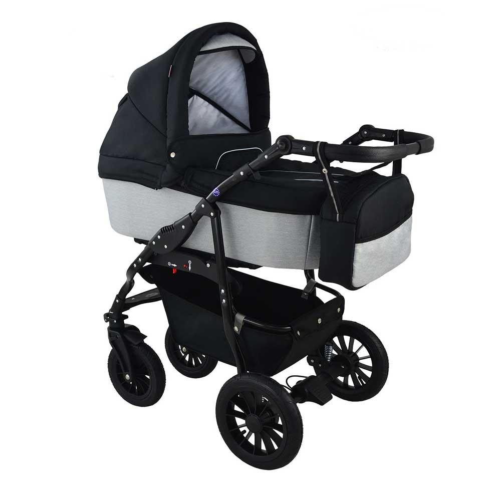 Barnvagn Opal  Lounge Black
