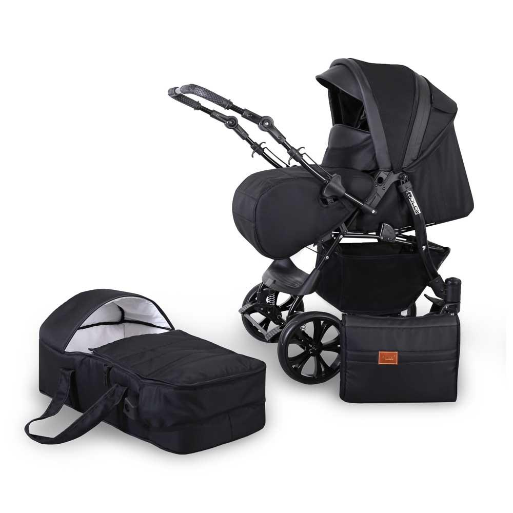 barnvagn turne black