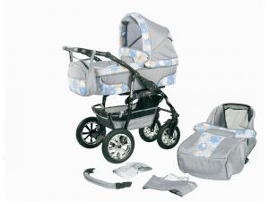 Bavario Duo Kombi 2 in 1 Barnvagn - BP4