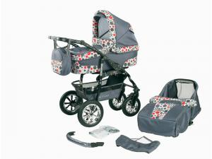 Bavario Duo Kombi 2 in 1 Barnvagn - BP8