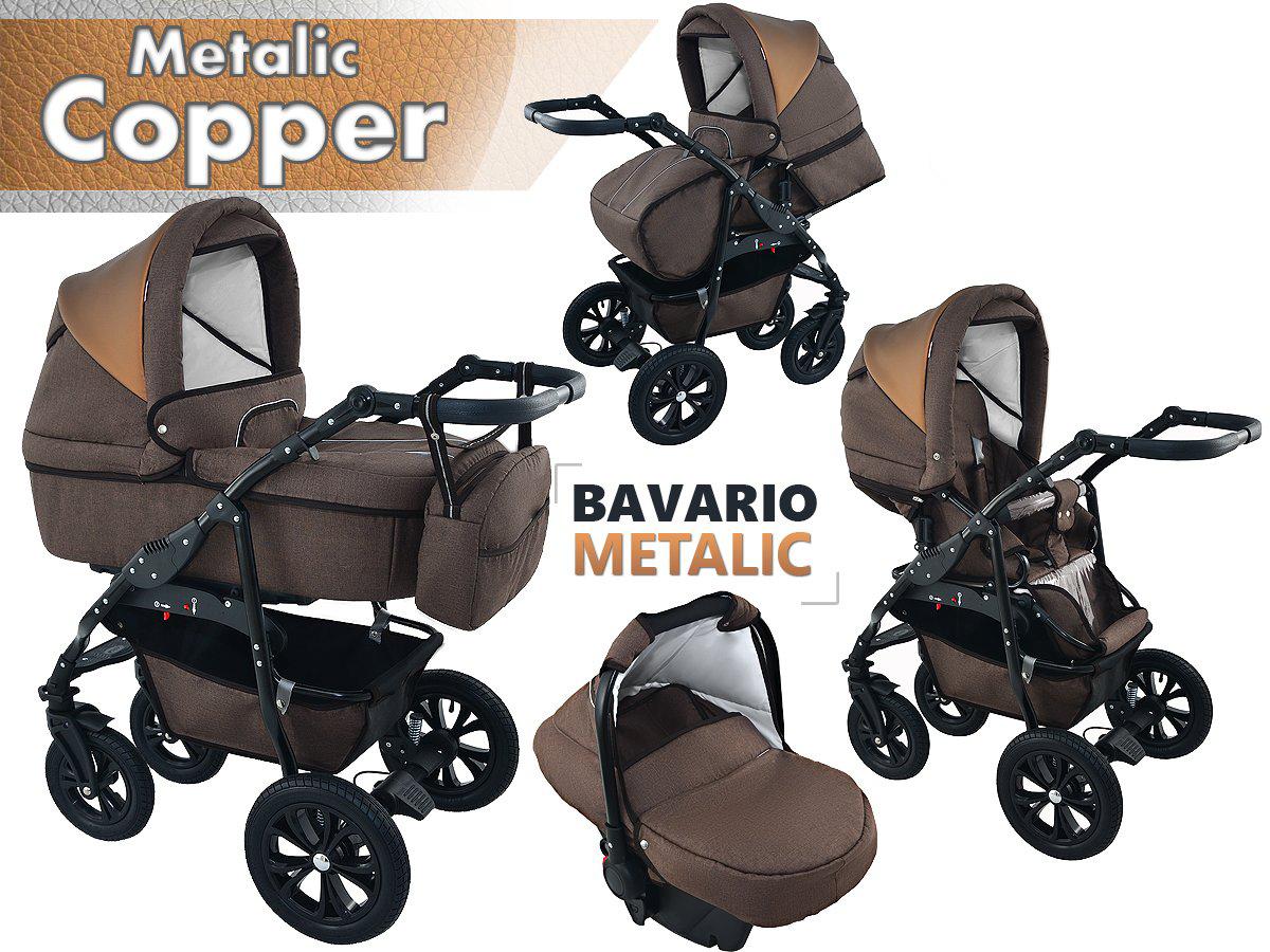 Bavario Copper Duo Kombi Barnvagn