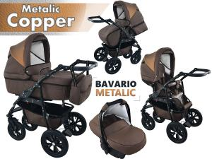 Bavario Copper Duo Kombi Barnvagn