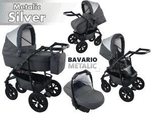 Bavario Silver Duo Kombi Barnvagn