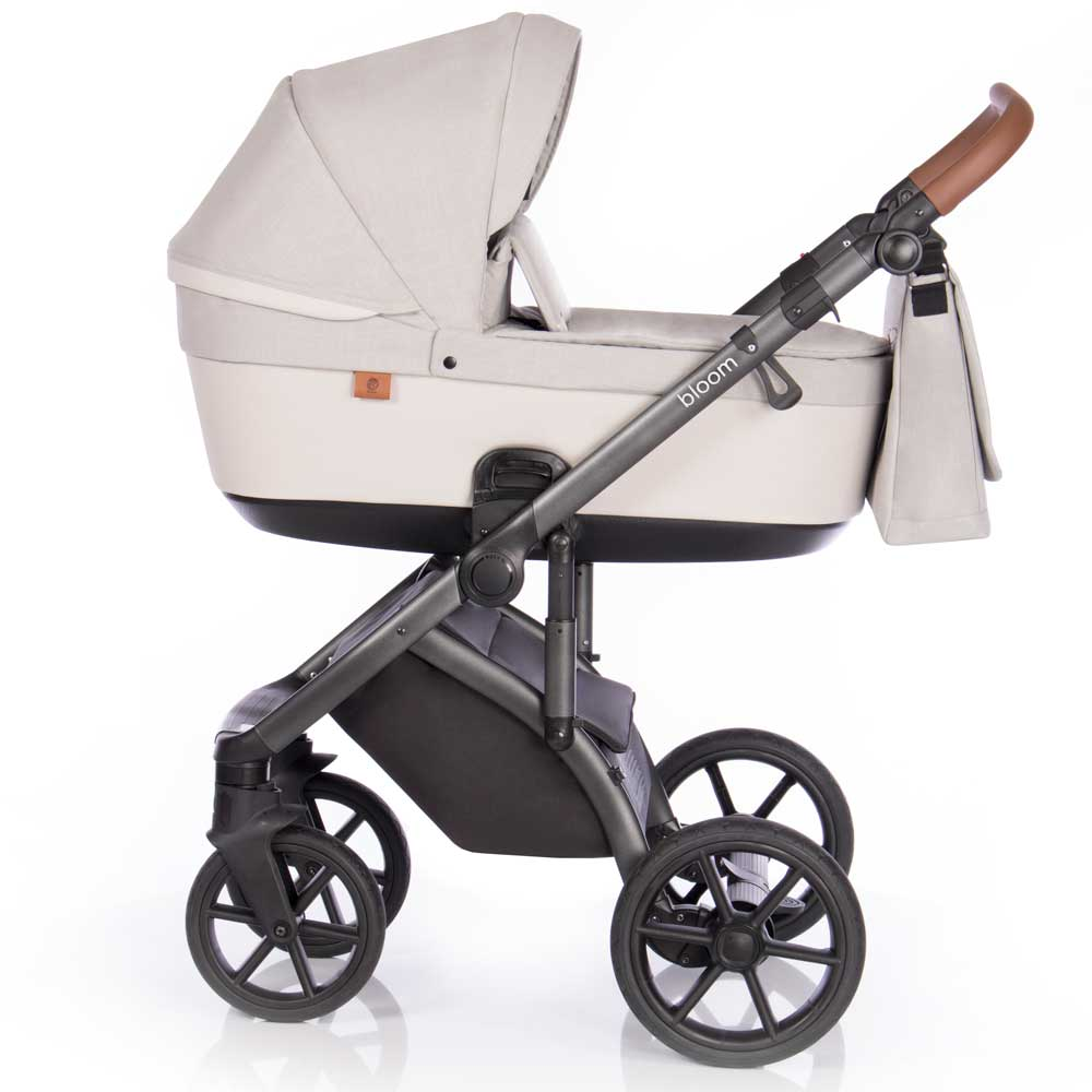 bloom duo barnvagn ivory