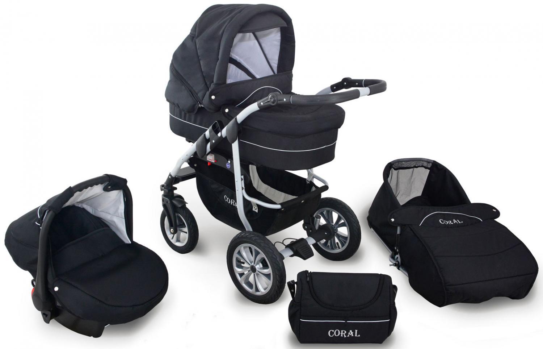 coral duo barnvagn 3 i 1 ce2
