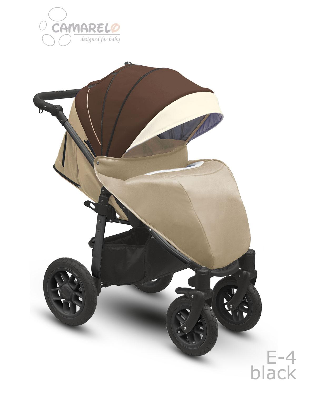 Eos black barnvagn