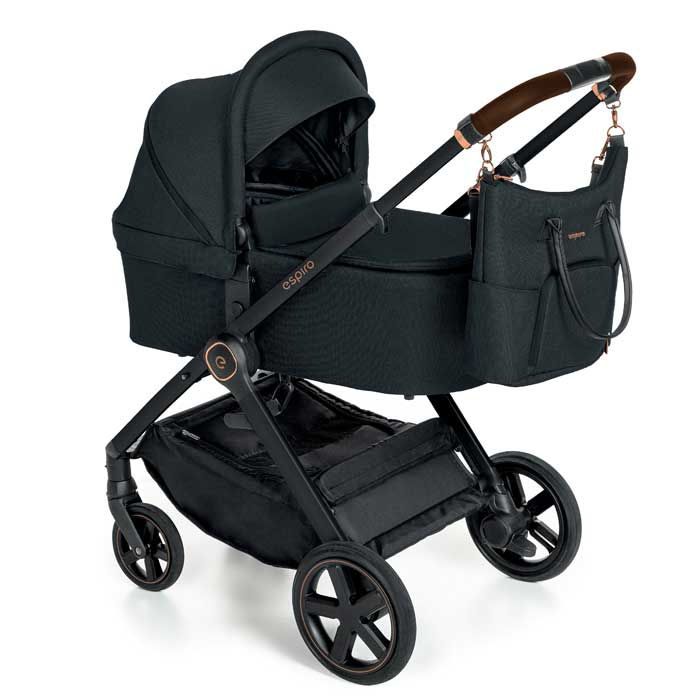 Espiro Only Limited Barnvagn - Black Space Black