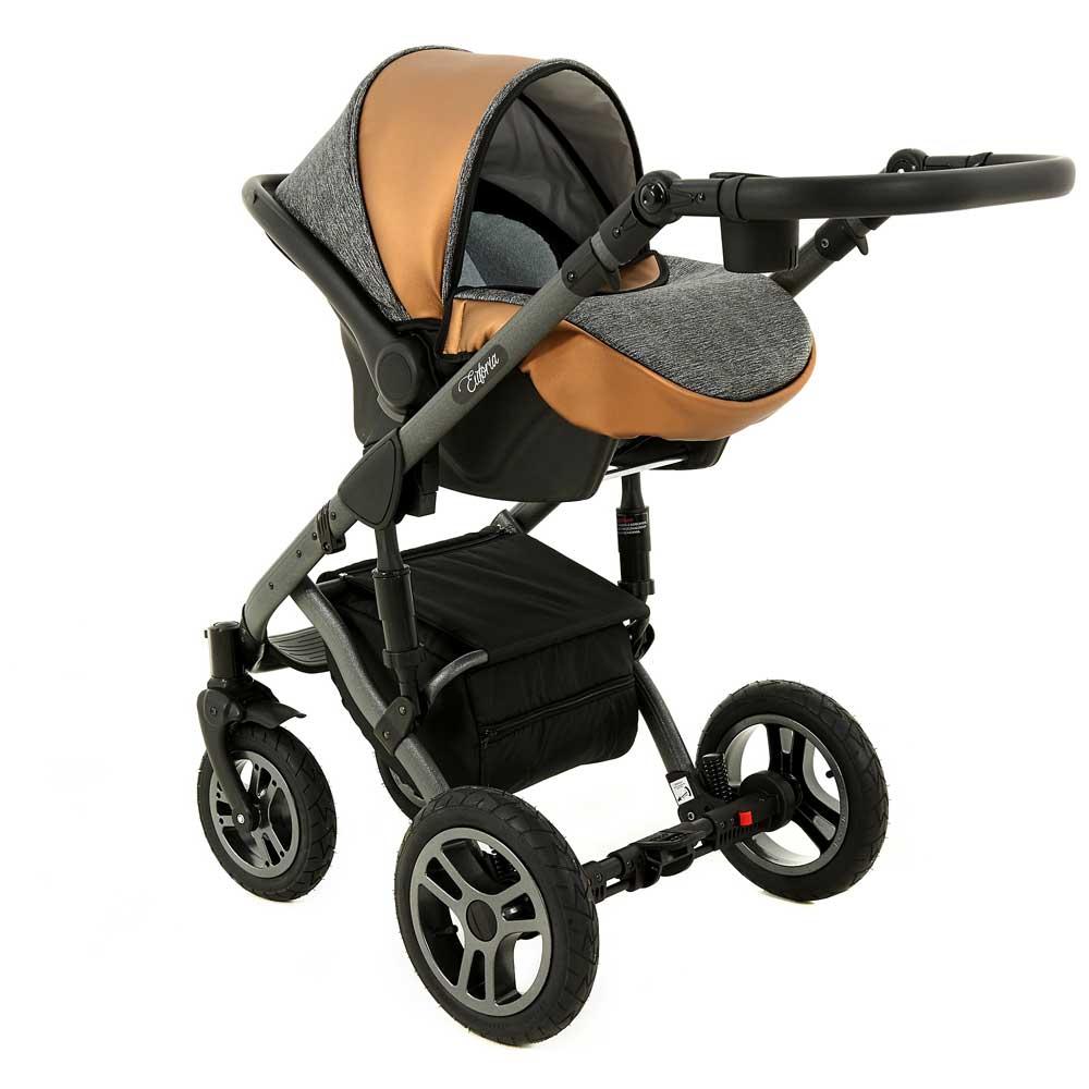 euforia babyskydd copper grey