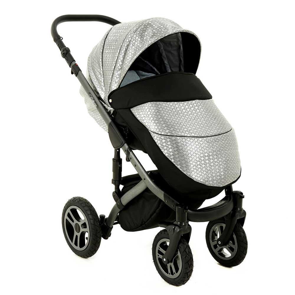 euforia barnvagn silver