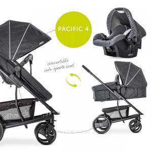 Hauck pacyfic barnvagn