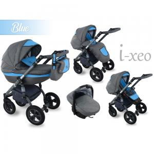 I-Xeo | Travel System Barnvagn - Blue