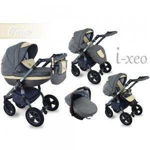 I-Xeo | Travel System Barnvagn - Cream