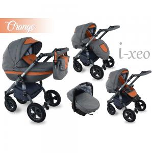 I-Xeo | Travel System Barnvagn - Orange