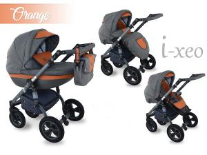 I-Xeo | Duo Barnvagn - Orange
