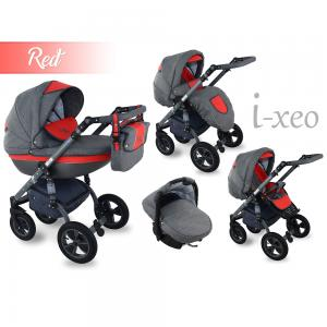 I-Xeo | Travel System Barnvagn - Red