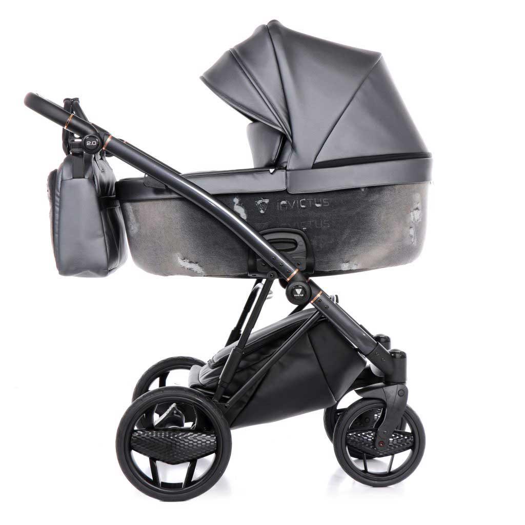 invictus 2-0 jeans black barnvagn 01